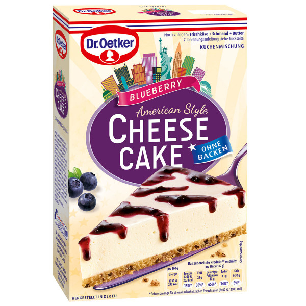 Cheesecake American Style Blueberry