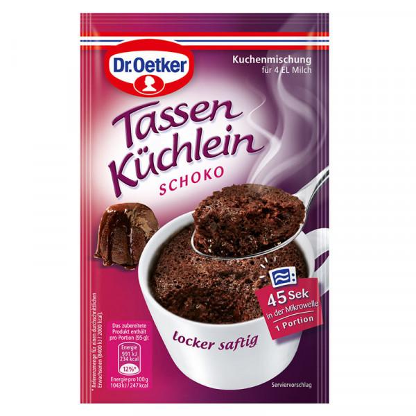 Tassen Küchlein Schoko