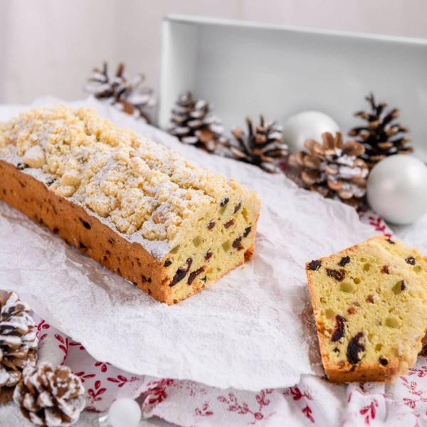 "Kastenform ""White Christmas Baking"", 30 cm"