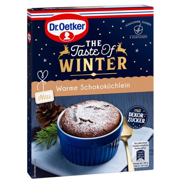 Warme Schokoküchlein