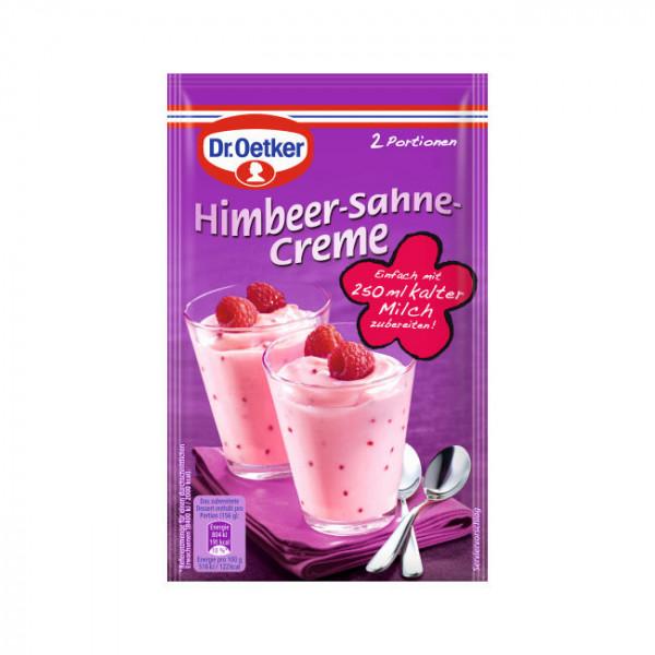 Himbeer-Sahne-Creme