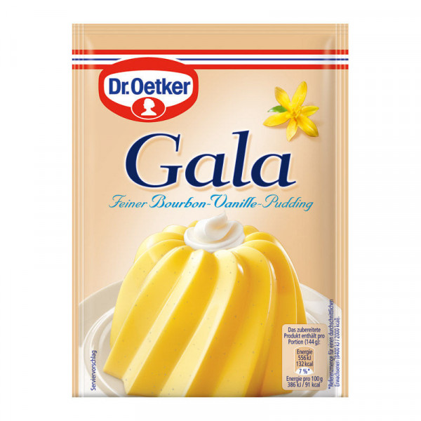 Gala Feiner Bourbon-Vanille-Pudding 3er