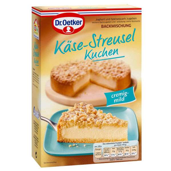 Käse-Streusel Kuchen