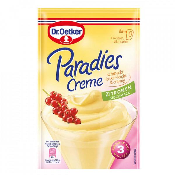 Paradies Creme Zitronen Geschmack