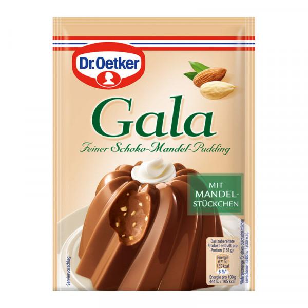 Gala Feiner Schoko-Mandel-Pudding 2er