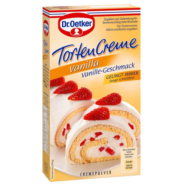 Tortencreme Vanilla