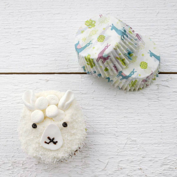 "Happy Baking Muffinförmchen ""Lama / Kaktus"""