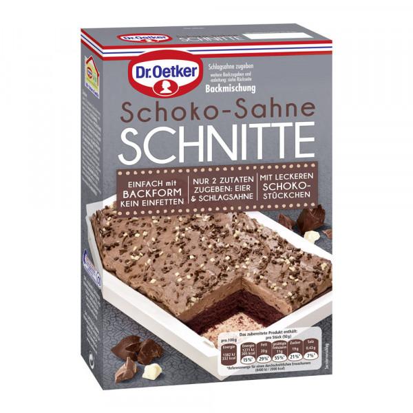 Schoko-Sahne Schnitte