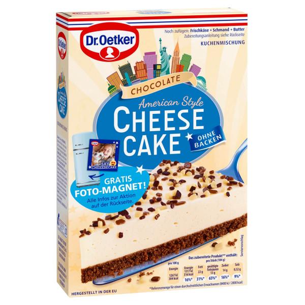 Cheesecake American Style Chocolate
