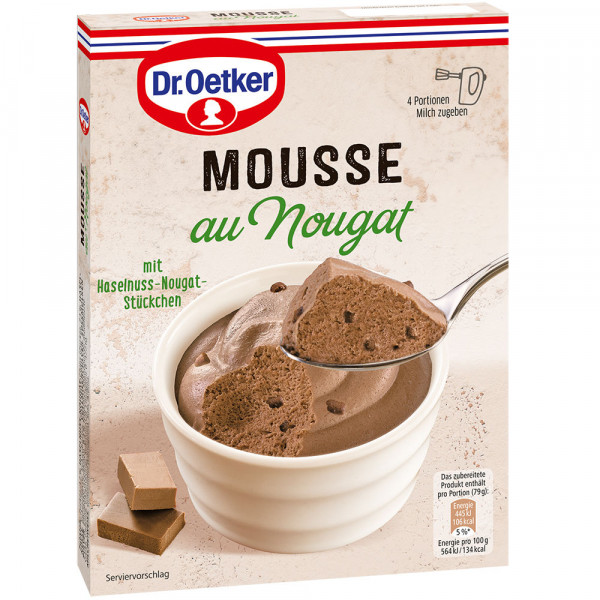 Mousse au Nougat