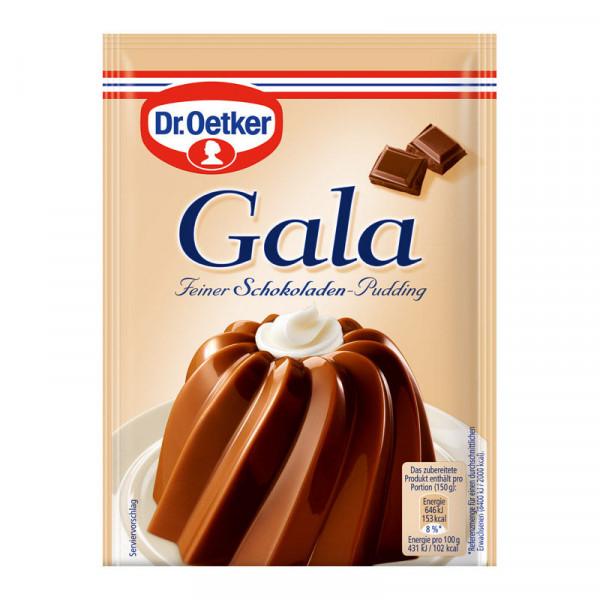 Gala Feiner Schokoladen-Pudding 3er