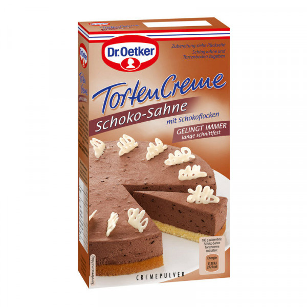 Schoko-Sahne Tortencreme