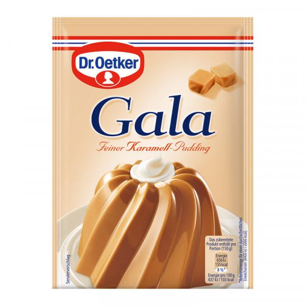 Gala Feiner Karamell-Pudding 3er