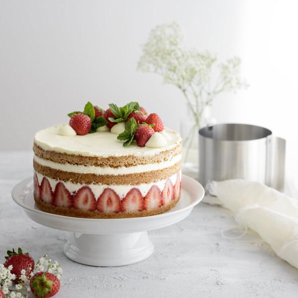 Dessert- und Tortenring, 10 cm