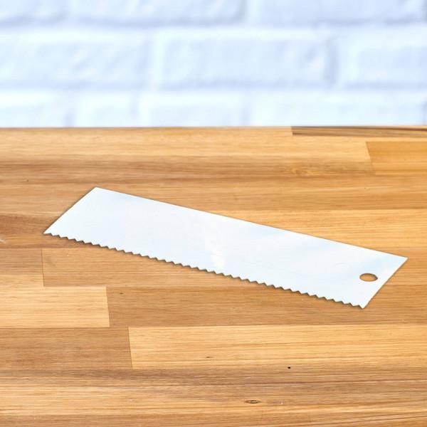 Tortenglätter, extra hoch 23 cm