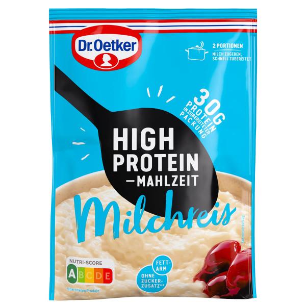 High Protein Mahlzeit Milchreis