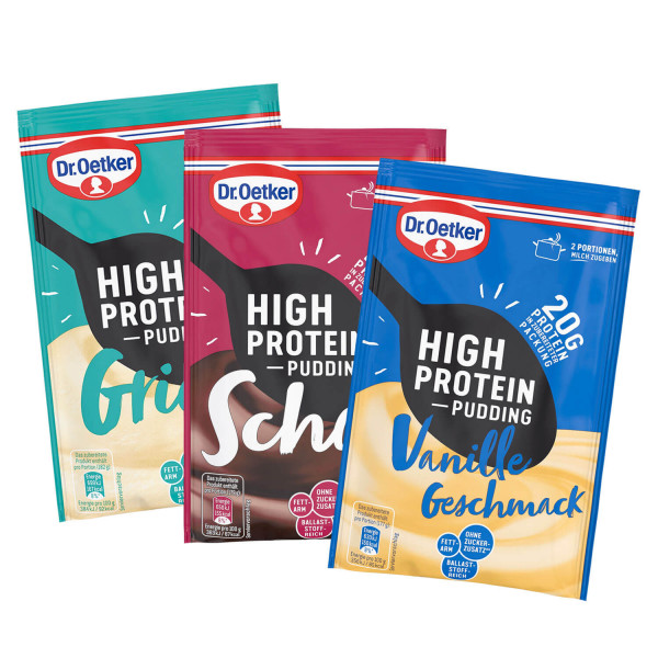 """Probier-Set """"High Protein Pudding"""""""