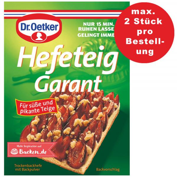 Hefeteig-Garant