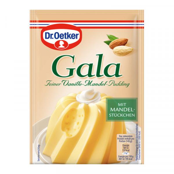 Gala Feiner Vanille-Mandel-Pudding 2er