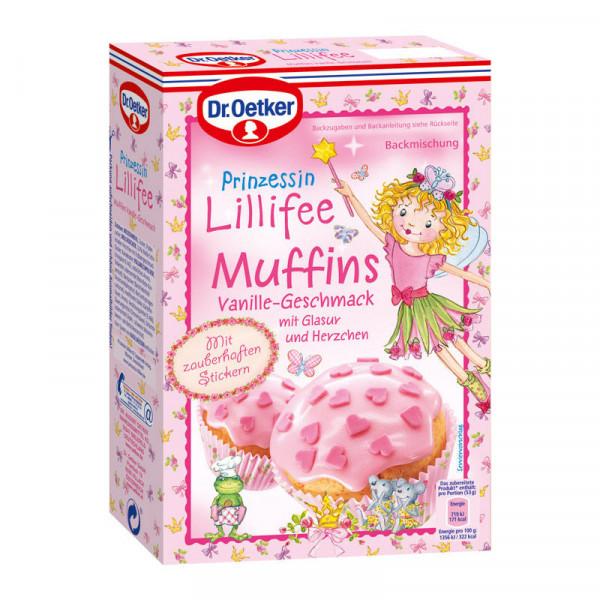 Prinzessin Lillifee Muffins Vanille-Geschmack
