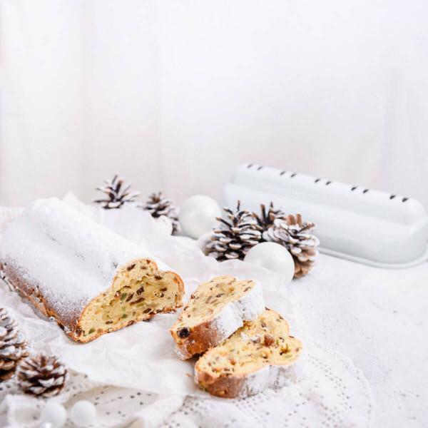 "Stollenbackform ""White Christmas Baking"", 31 cm"