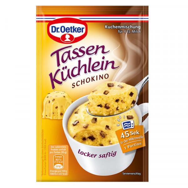 Tassen Küchlein Schokino